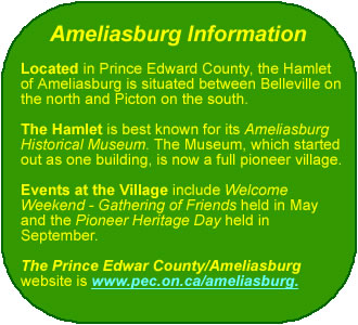 Ameliasburg Info