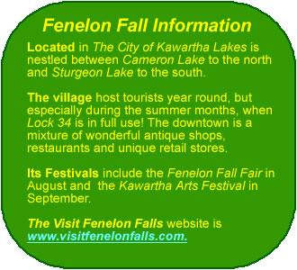 Fenelon Fall Info