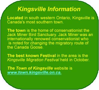 Kingsville Info
