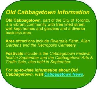 Old Cabbagetown Info